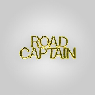 Cap Bar Pin - Road Captain