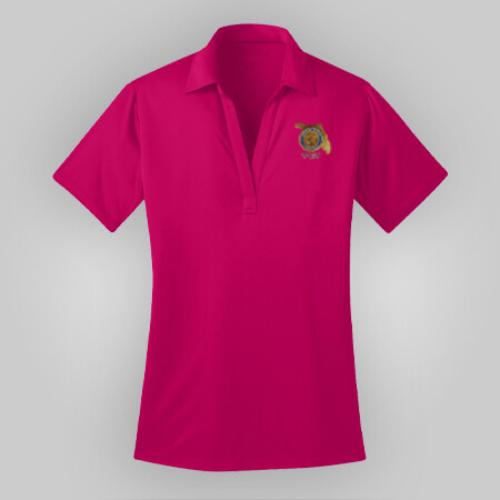 Pink Raspberry Polo Ladies