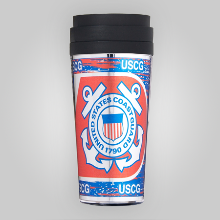 Coast Guard 16oz Acrylic Tumbler