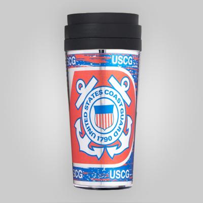 Coast Guard 16oz Acrylic Tumbler