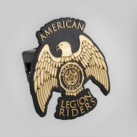 Legion Riders Auto Trailer Hitch Cover