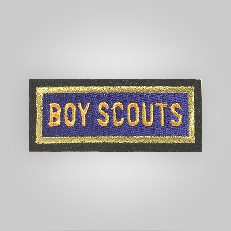Uniform Cap Boy Scout Patch