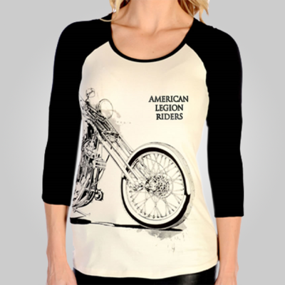 Lady Riders Vintage Bike T-shirt