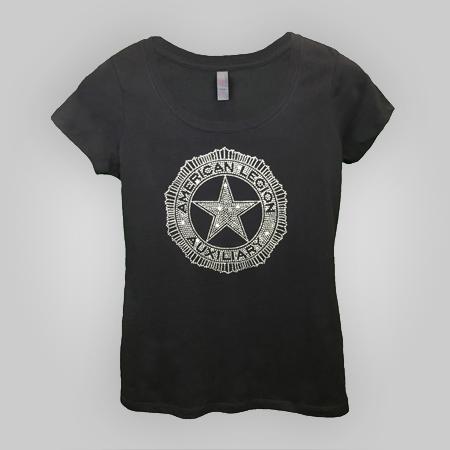 Auxiliary Clear Rhinestone T-shirt