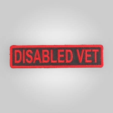 Disabled Vet Patch