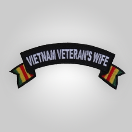 Vietnam Vet Wife Patch