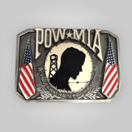 POW/MIA Belt Buckle