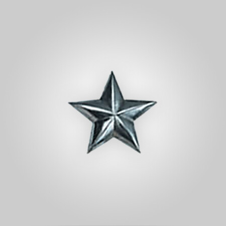 Metal Stars Silver