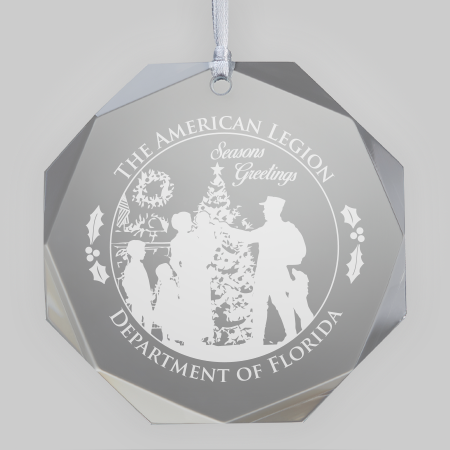 """Home for Christmas"" Ornament"