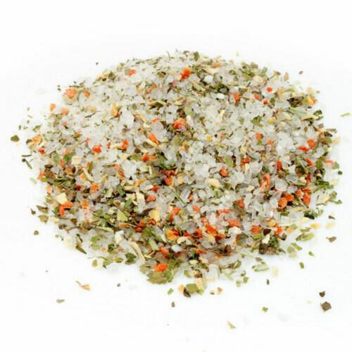 Сіль морська з овочами (сушені буряк, морква, топінамбур, селера, яблука )100гр