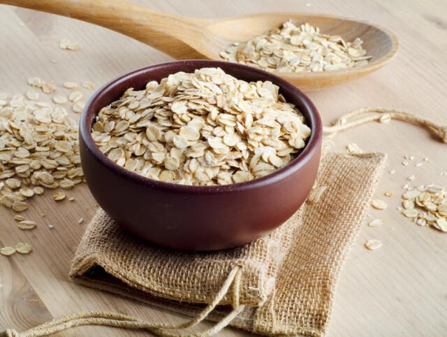 Пластівці плющені Спельта, Льон, Пшениця чорноброва 200 гр.
