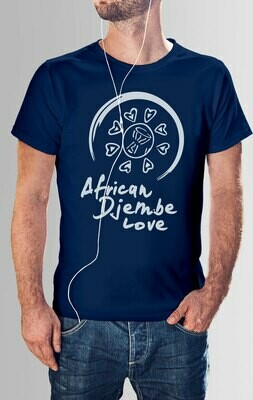 African Djembe Drum - T Shirt Designs Set 1