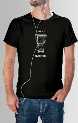 African Djembe Drum - T Shirt Designs Set 2