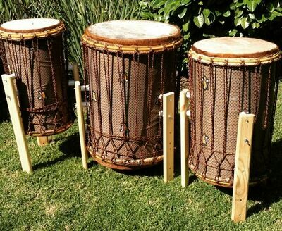 Triple Bass drum Set