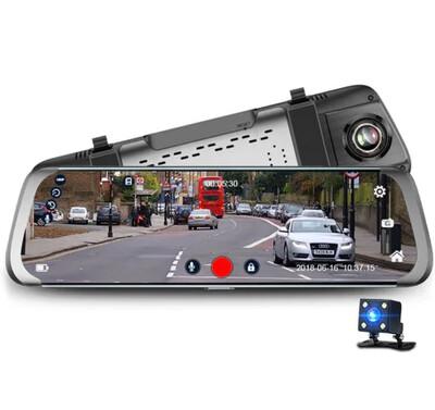 Espelho Retrovisor Junsun Dual Lens