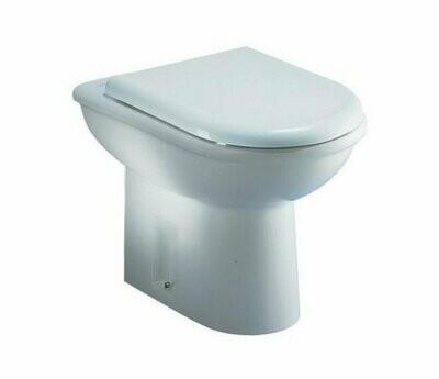 Happy D2 215909 bianco Duravit vaso a pavimento filo parete