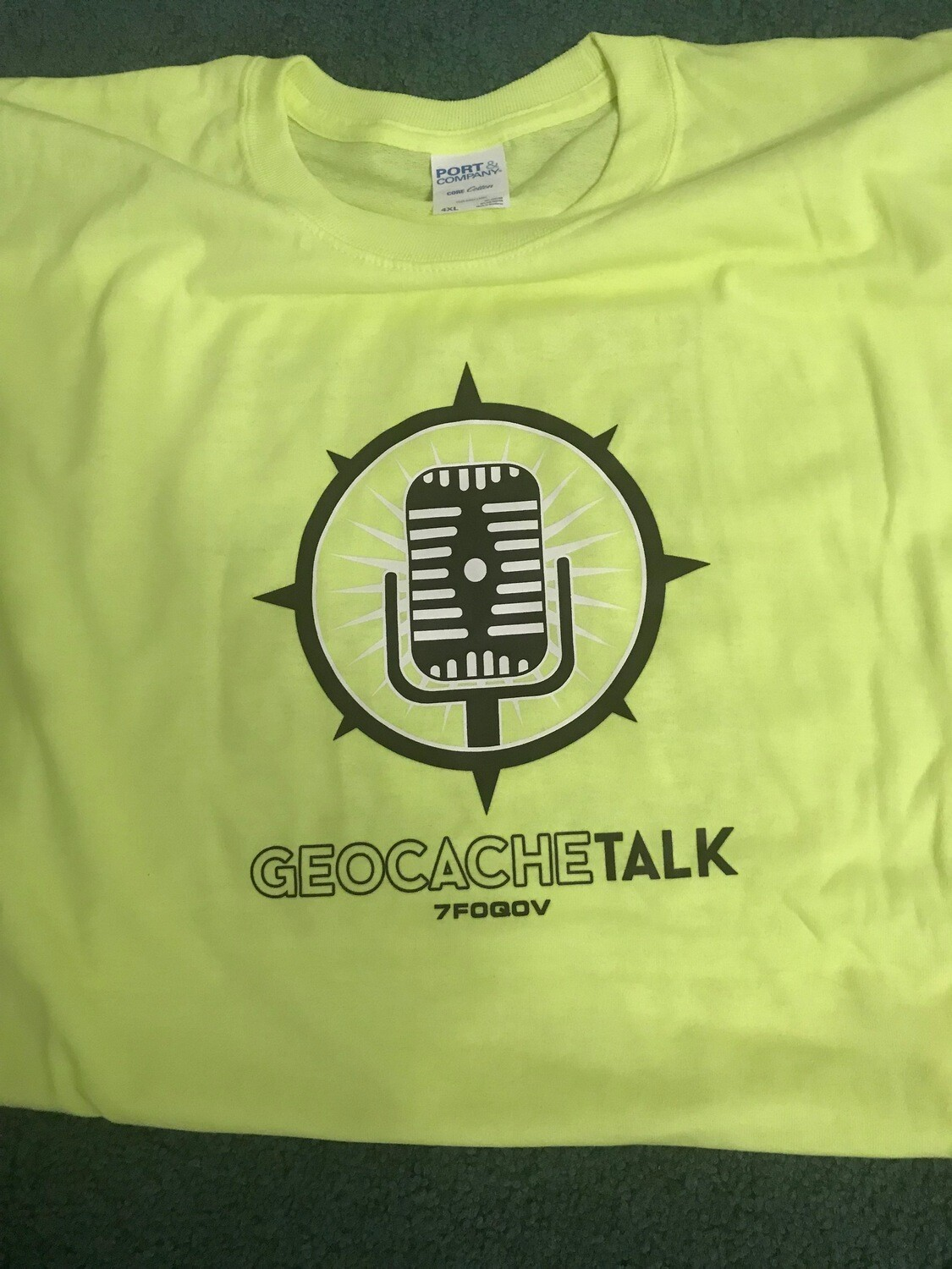 Geocaching Alphabet Shirt