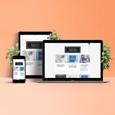 Página Web Escaparate