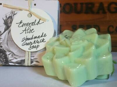 Emerald Agave with Aloe Butter