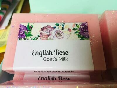English Rose with Squalane Oil