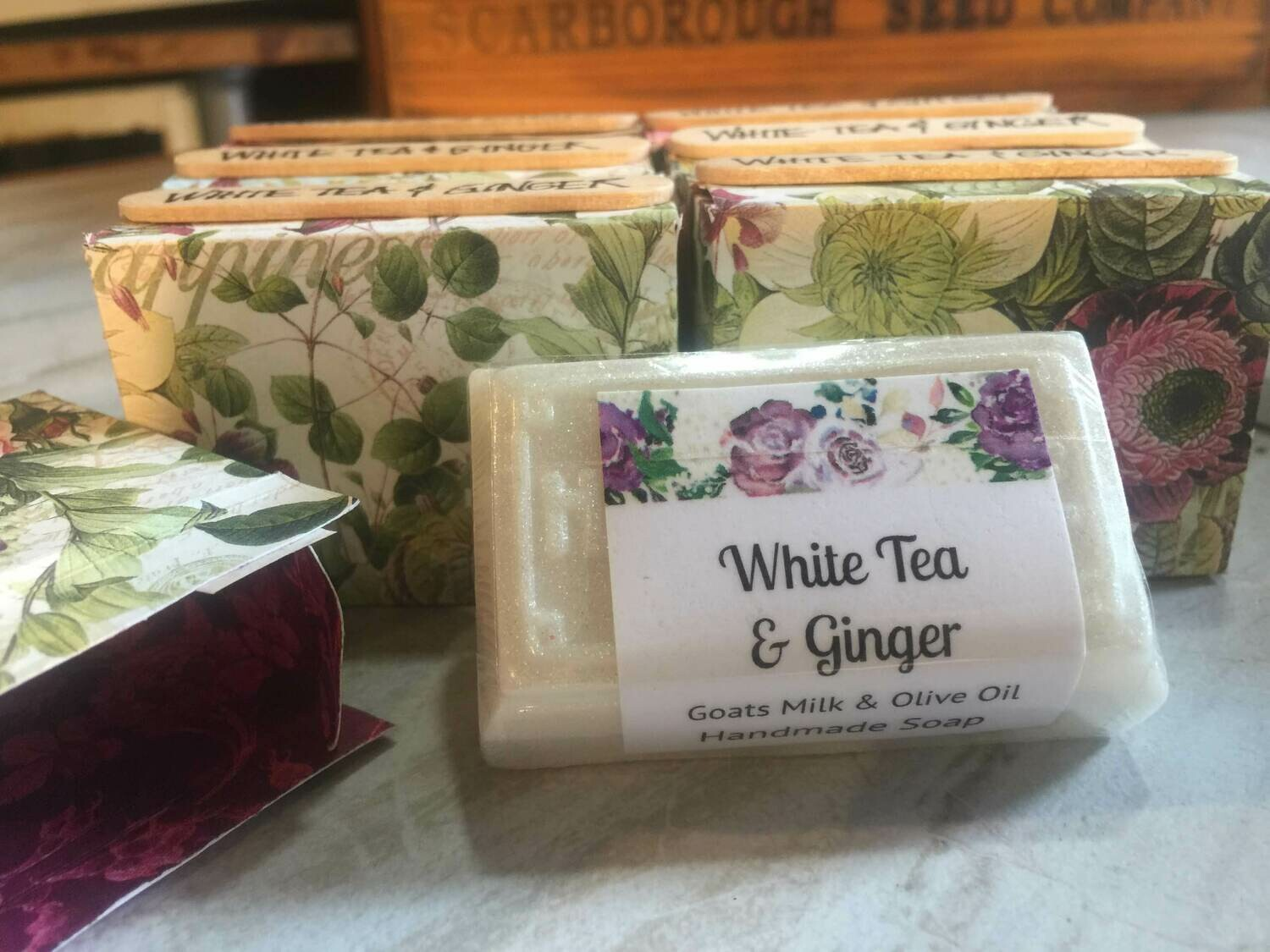White Tea and Ginger and Olive Oil