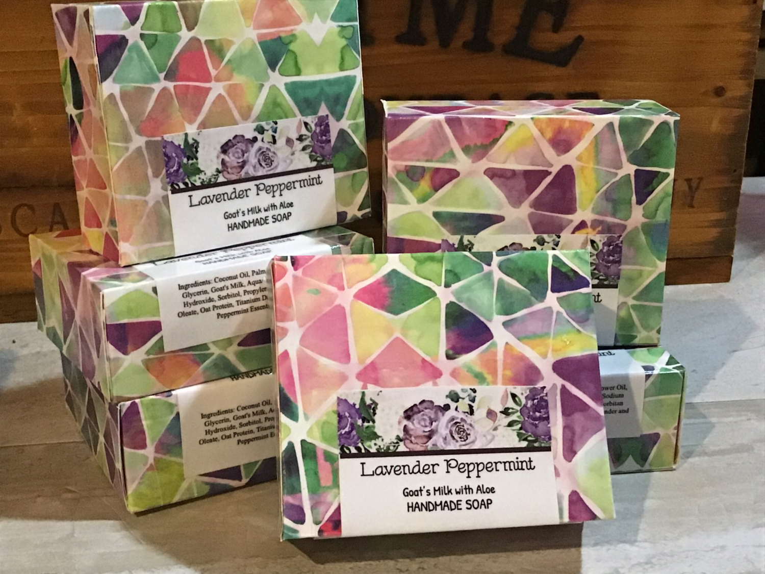 Lavender & Peppermint Goat's Milk and Aloe