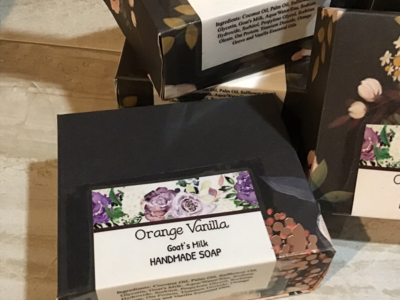 Orange Vanilla Goat's Milk