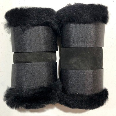 Sheepskin Rolled Paddock Boots (Small Pony)