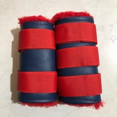 Sheepskin/Vinyl Paddock Boots (Cob)