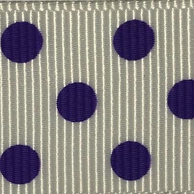 White/Purple Dots
