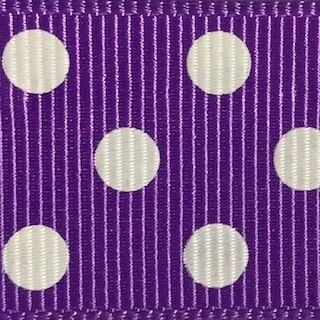 Purple/White Dots