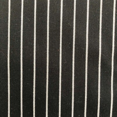 Black with White Stripes