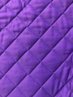 Purple Cotton Quilting