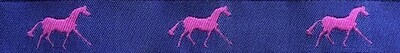 Horse Binding- Purple/ Pink Horse