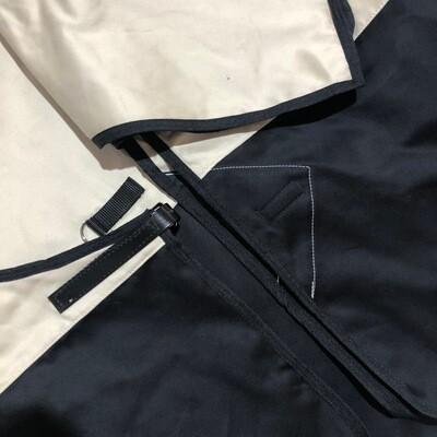 6'0 Moleskin Two Tone Rug & Tailbag