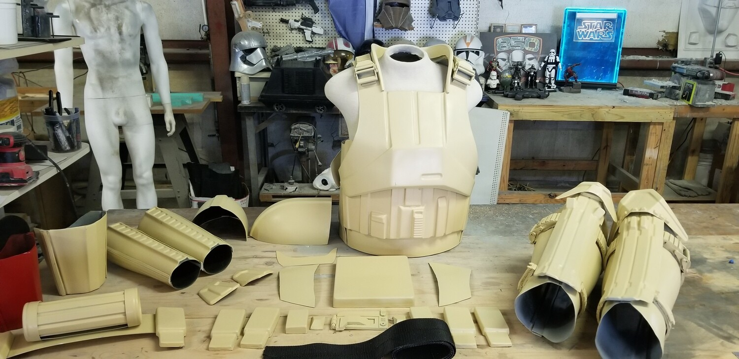 R1 Shore Trooper grunt or captain style armor kit prop costume
