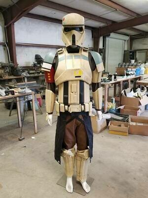 R1 Shoretrooper squad leader style costume armor kit