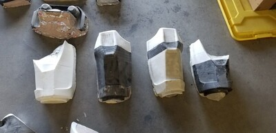 Fallout T60 Power Armor MOLDS for vacuum forming plastic business opportunity