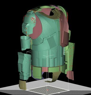 Red trooper HELMET pre order