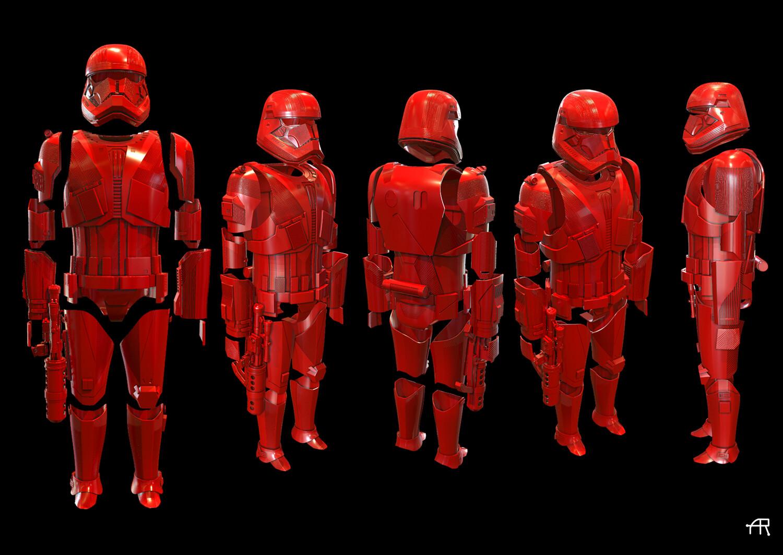 Sith Trooper 3D Files final