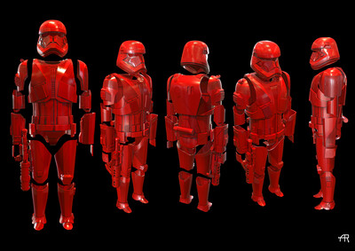 Sith Trooper 3D Files final