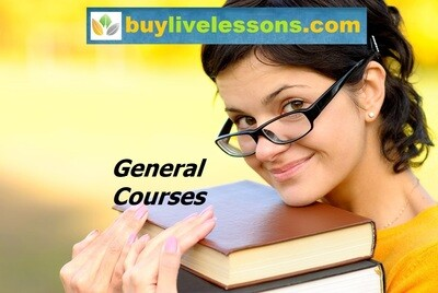 BUY 5 GENERAL LIVE LESSONS FOR 90 MINUTES EACH.