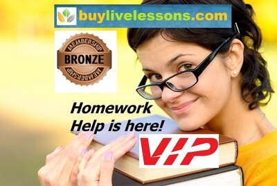 BUY BRONZE HOMEWORK HELP, UP TO 50 PAGES