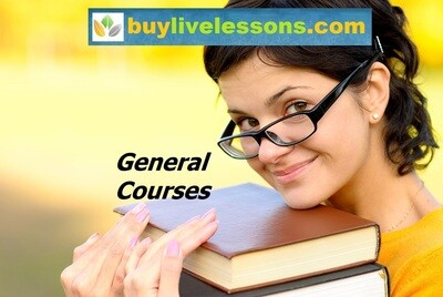 BUY 60 GENERAL LIVE LESSONS FOR 90 MINUTES EACH.