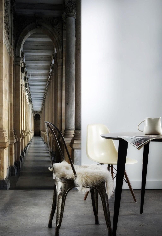 Koziel Trompe L Oeil koziel handcraft velvet tapestry trompe-l'œil coursive de chateau - french  trends shop