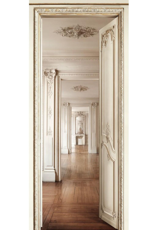Koziel Trompe L Oeil koziel handcraft trompe-l'œil wallpaper room perspective
