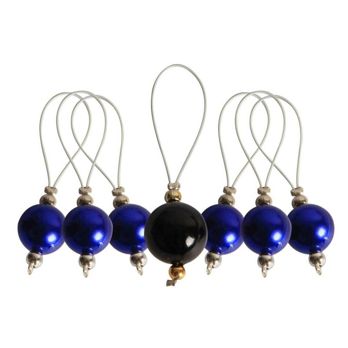 Маркер для вязания Bluebell (колокольчик) пластик, 7шт, Knit Pro