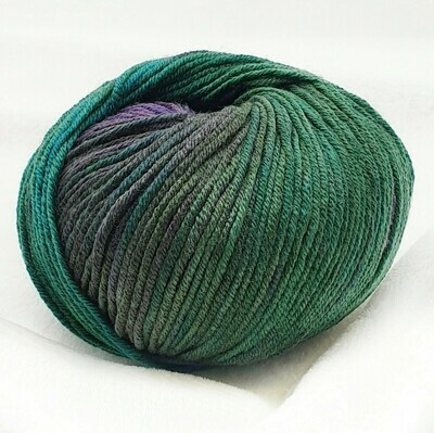 Super soft STAMPATO (8505/Фиолетово-зеленый)