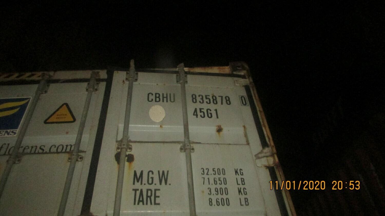 CBHU8358780