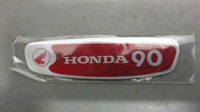 Honda C90 Cub badges